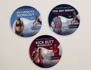 Pilates Power Gym 3 DVD Workout Pack