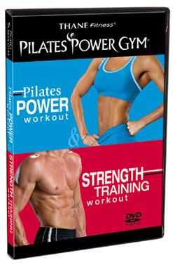 Pilates Power Workout & Strength Training DVD